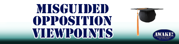 Misguided Opposition Viewpoints